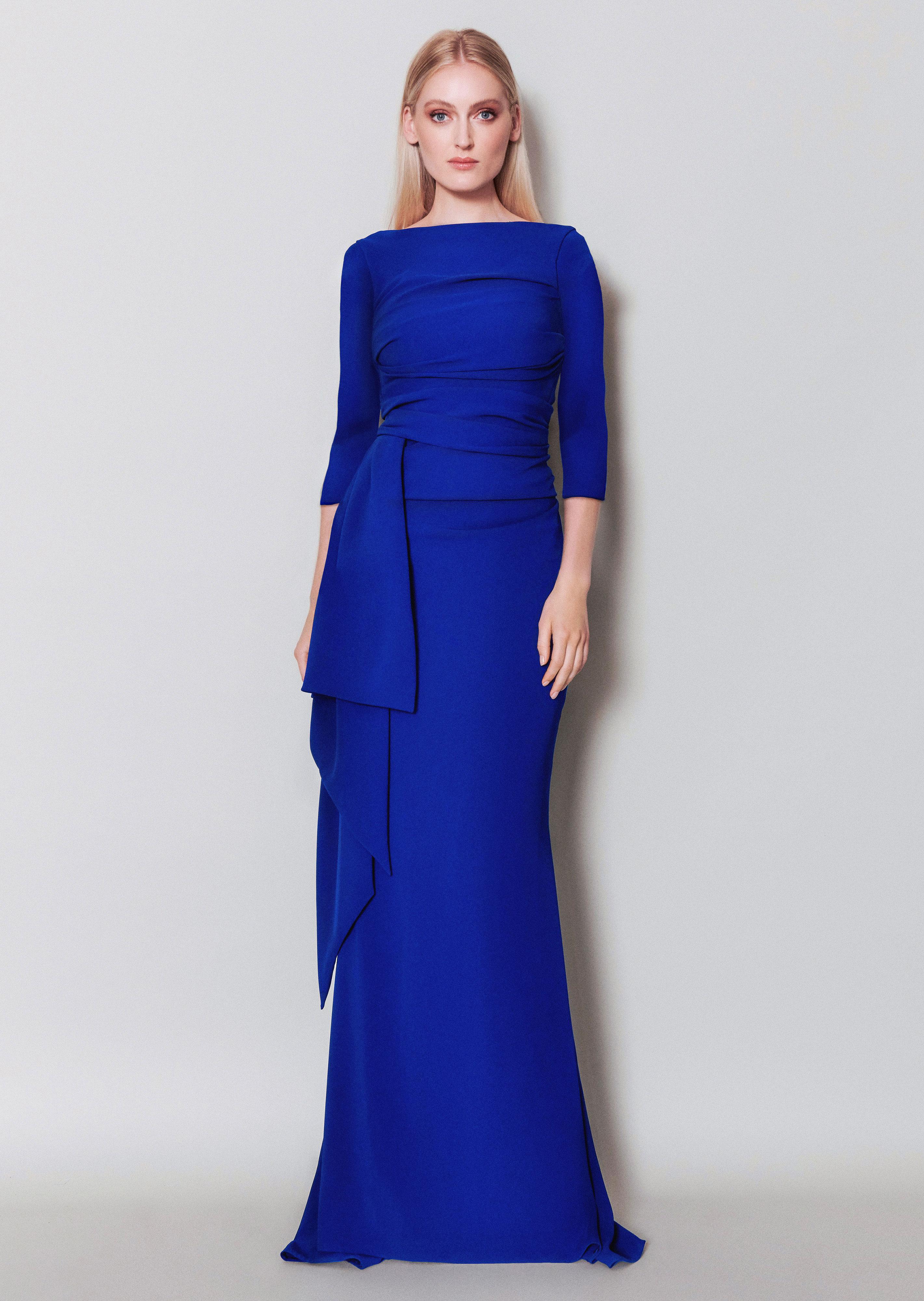 Langes Kleid Bouvier10
